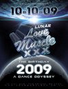 Love Muscle Lunar Space Party